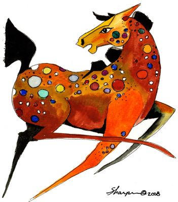 00-101 Spotted Horse 3
