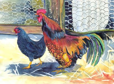 179 rooster and hen 2007 2.jpg
