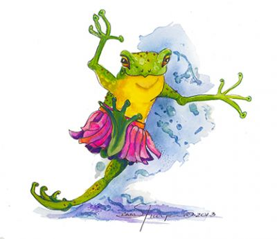 100-331 Dance of the fairy frogs 2