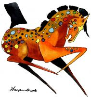 00-100 Spotted Horse 2