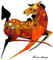 00-102 Spotted Horse 4