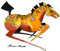 00-103 Spotted Horse 5