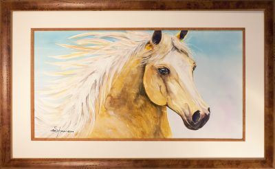 yellow horse framed 2.jpg